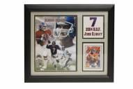 """Denver Broncos 12"""" x 18"""" John Elway Photo Stat Frame"""