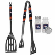 Denver Broncos 2 Piece BBQ Set with Salt & Pepper Shakers
