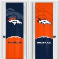 Denver Broncos 2 Sided Door Wrap