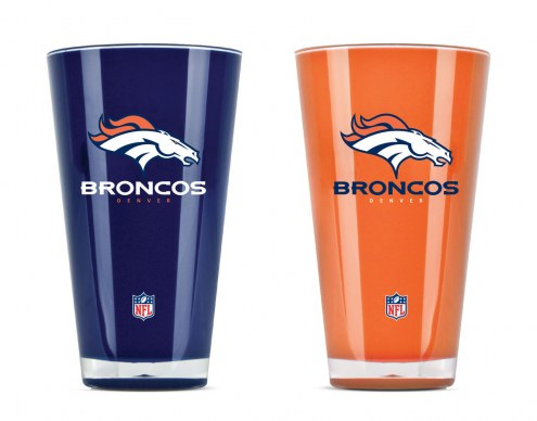 Denver Broncos 20 oz. Insulated Acrylic Tumbler Twin Pack