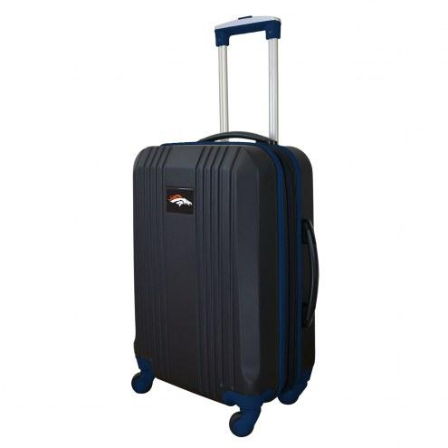 """Denver Broncos 21"""" Hardcase Luggage Carry-on Spinner"""