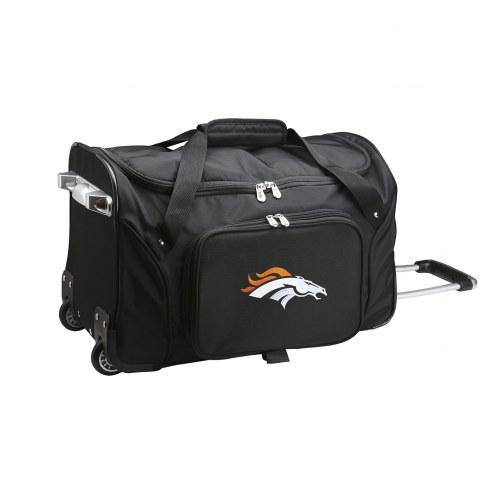 "Denver Broncos 22"" Rolling Duffle Bag"