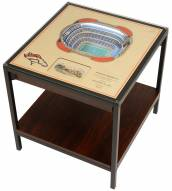 Denver Broncos 25-Layer StadiumViews Lighted End Table