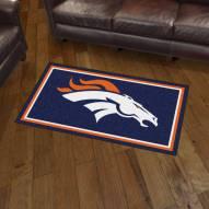 Denver Broncos 3' x 5' Area Rug