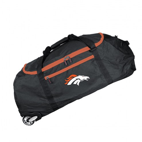 """Denver Broncos 36"""" Checked-in Wheeled Duffel"""