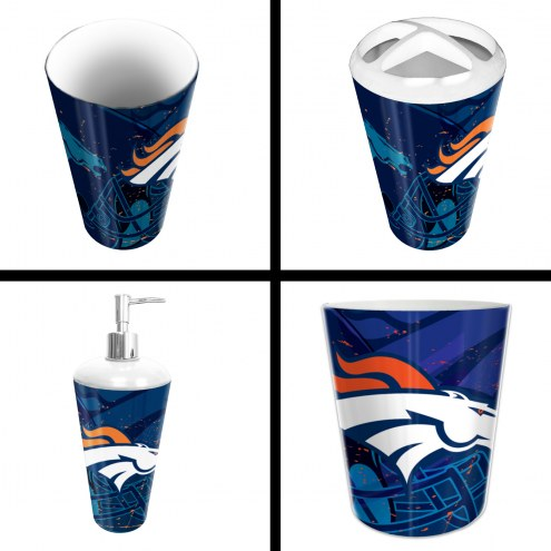 Denver Broncos 4-Piece Bath Set