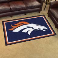 Denver Broncos 4' x 6' Area Rug