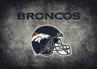 Denver Broncos 4' x 6' NFL Distressed Area Rug