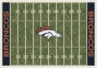 Denver Broncos 4' x 6' NFL Home Field Area Rug