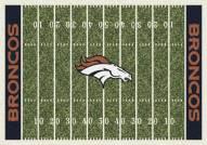 Denver Broncos 4' x 6' NFL Home Field Area Rug