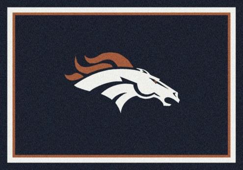 Denver Broncos 4' x 6' NFL Team Spirit Area Rug