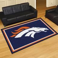 Denver Broncos 5' x 8' Area Rug