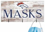 """Denver Broncos 6"""" x 12"""" Mask Holder"""