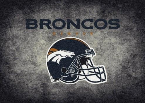 Denver Broncos 6' x 8' NFL Distressed Area Rug