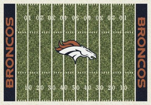 Denver Broncos 6' x 8' NFL Home Field Area Rug