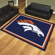 Denver Broncos 8' x 10' Area Rug