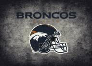 Denver Broncos 8' x 11' NFL Distressed Area Rug