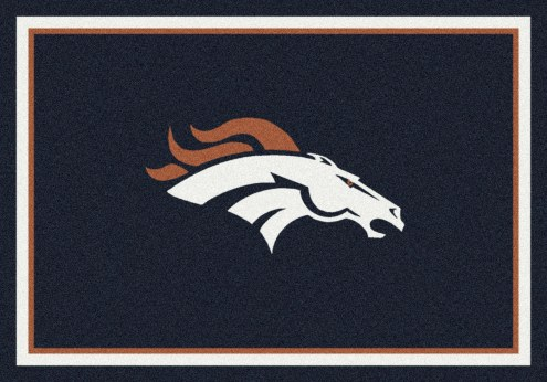 Denver Broncos 8' x 11' NFL Team Spirit Area Rug