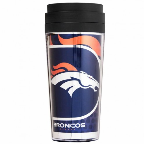 Denver Broncos Acrylic Travel Tumbler