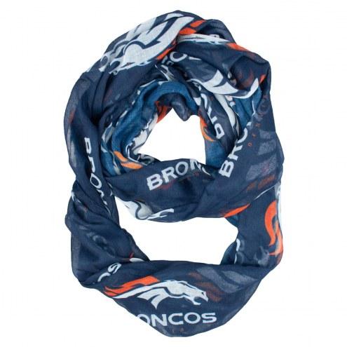 Denver Broncos Alternate Sheer Infinity Scarf