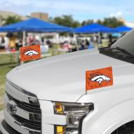 Denver Broncos Ambassador Car Flags