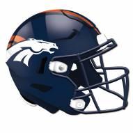 Denver Broncos Authentic Helmet Cutout Sign