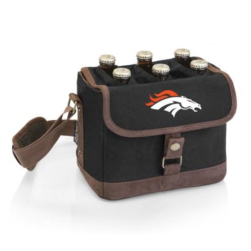 Denver Broncos Beer Caddy Cooler Tote with Opener