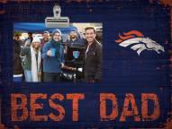 Denver Broncos Best Dad Clip Frame