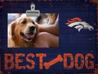 Denver Broncos Best Dog Clip Frame
