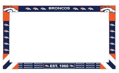 Denver Broncos Big Game Monitor Frame
