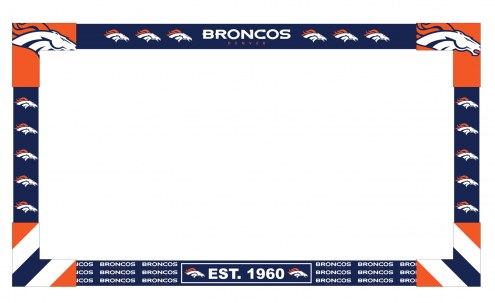 Denver Broncos Big Game TV Frame