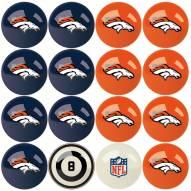 Denver Broncos Billiard Balls
