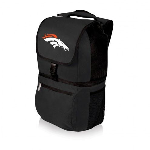 Denver Broncos Black Zuma Cooler Backpack