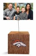 Denver Broncos Block Spiral Photo Holder