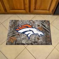 Denver Broncos Camo Scraper Door Mat