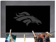 Denver Broncos Chalkboard with Frame