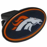Denver Broncos Class III Plastic Hitch Cover