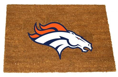 Denver Broncos Colored Logo Door Mat