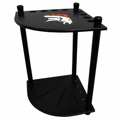 Denver Broncos Corner Pool Cue Rack