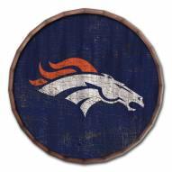 """Denver Broncos Cracked Color 24"""" Barrel Top"""