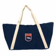 Denver Broncos Crest Chevron Weekender Bag