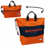 Denver Broncos Crosshatch Expandable Tote