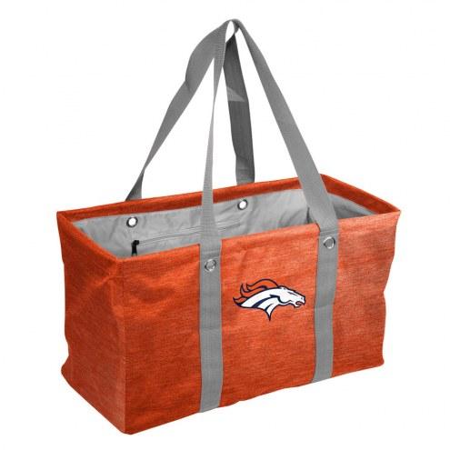 Denver Broncos Crosshatch Picnic Caddy