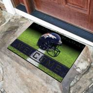 Denver Broncos Crumb Rubber Door Mat