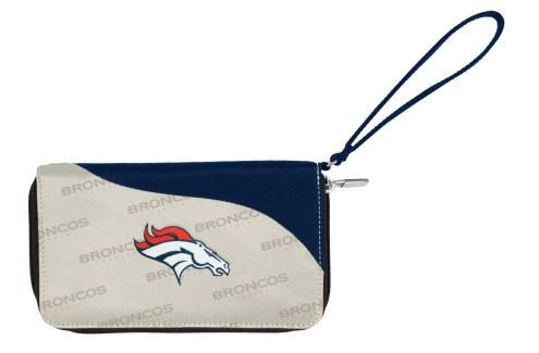 Denver Broncos Curve Zip Wallet