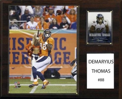 "Denver Broncos Demaryius Thomas 12"" x 15"" Player Plaque"