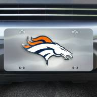 Denver Broncos Diecast License Plate