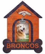 Denver Broncos Dog Bone House Clip Frame