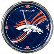 Denver Broncos Dynamic Chrome Clock