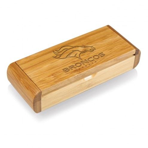 Denver Broncos Elan-Bamboo Corkscrew